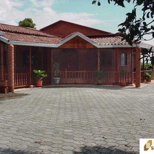 Ladrillo y tejas para casa Campestre